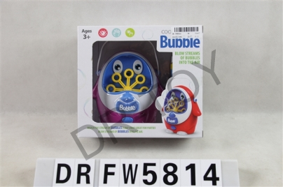 Little penguin bubble machine (three color mixed, do not contain battery, take a bubble water, color