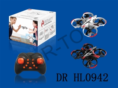 With interactive remote sensing 2.4 G unmanned aerial vehicle (uav) (1) remote control and infrared