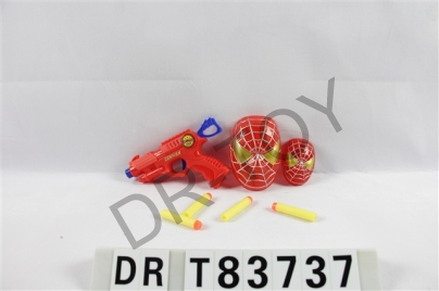 Eva gun double spider mask strip light movable joints